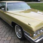 Last Hardtop:  1973 Cadillac Coupe DeVille 44K Mile Survivor – $13,000