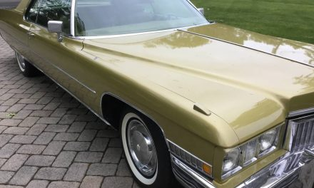 Last Hardtop:  1973 Cadillac Coupe DeVille 44K Mile Survivor – Sold!