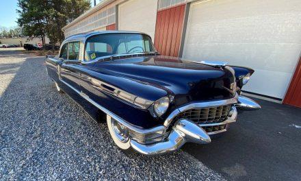 American Beauty: 1955 Cadillac Series 62 Coupe DeVille 41K Mile Survivor – $22,000