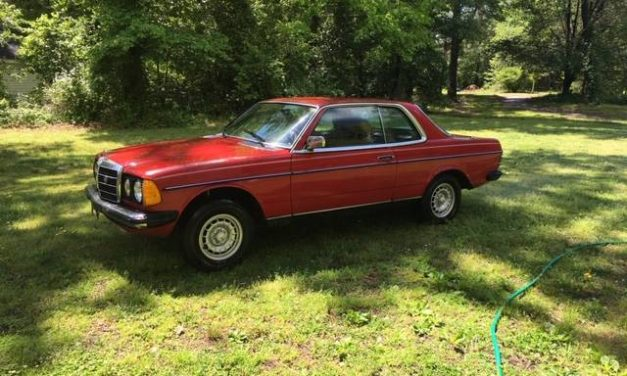 Red Ride:  1982 Mercedes Benz W123 300CD Coupe – $3,600