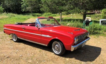 Seeing Red:  1963 Ford Falcon Futura Convertible – $13,000