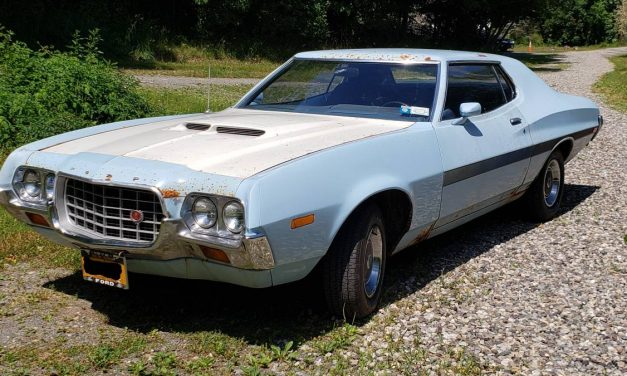 NEW! Award 44:  1972 Ford Grand Torino Sport Coupe – SOLD?