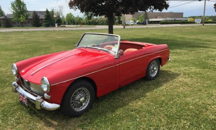 Award Winner: 1964 MG Midget Mk I – SOLD!