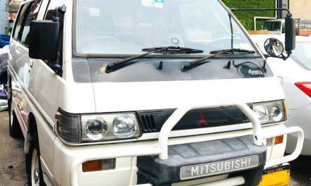 Turbo Diesel Camper: 1991 Mitsubishi Delica 4×4 GLX – $13,950