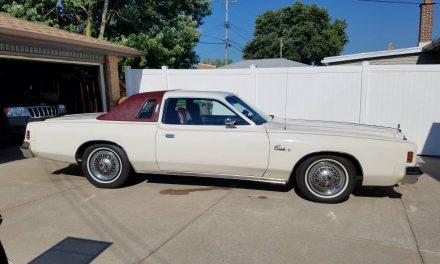 NEW! Award 45:  1976 Chrysler Cordoba 51K Mile Survivor – SOLD?