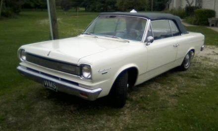 1966 AMC Rambler American 440 Convertible – $8,200