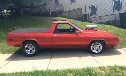 Hemi Under Hood: 1984 Dodge Rampage Pro Street – $24,900