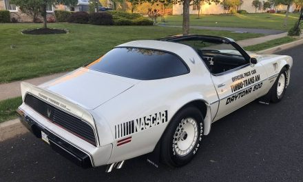 Fall From Grace:  1981 Pontiac Turbo Trans Am Daytona Pace Car – $24,000