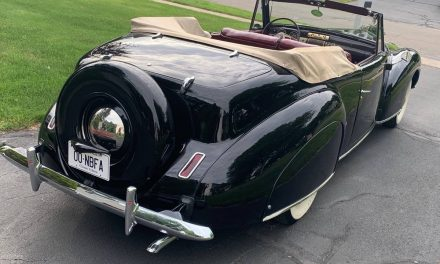 Hot Rod Lincoln: 1940 Lincoln Continental Cabriolet – $44,500