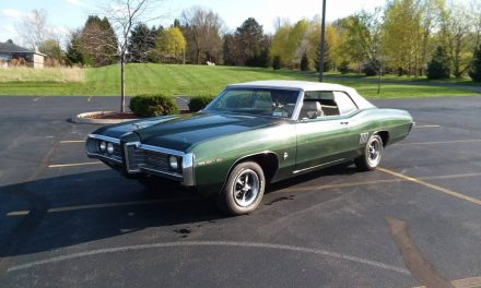 Impala in Drag:  1969 Pontiac 2+2 Convertible – $16,500