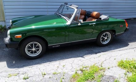 Concours Quality:  1976 MG Midget Mark IV 14K Restored – SOLD!