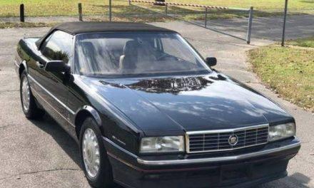 Final Year Northstar: 1993 Cadillac Allante – $10,800