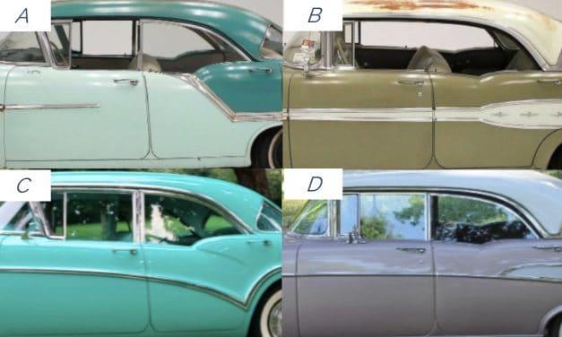 Guess What Ride 26:  1957 GM Four Door Hardtops