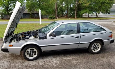 Giugiaro Coupe: 1984 Isuzu Impulse – $2,500