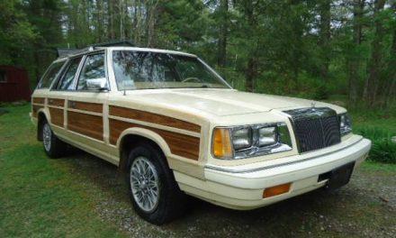 Comes Around: 1987 Chrysler LeBaron Town & Country Wagon – $2,500
