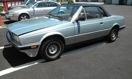 Worth the Pain? 1986 Maserati Biturbo Spider – $3,500