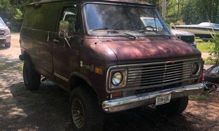 Pathfinder 4X4: 1977 Chevrolet K30 Shorty Van Project – Sold!