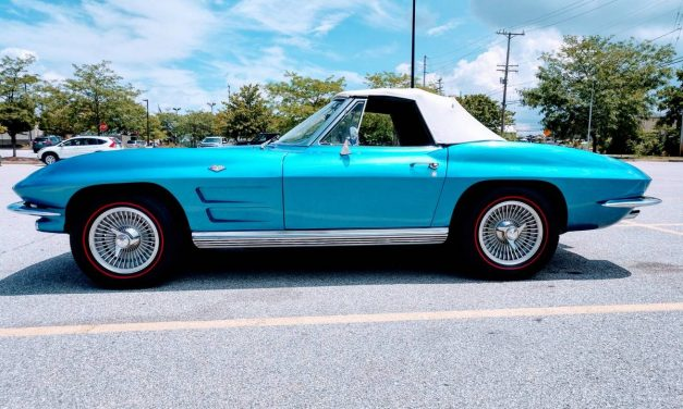 Nassau Bluetiful: 1964 Chevrolet Corvette 327/365 4-Speed Convertible – $48,500