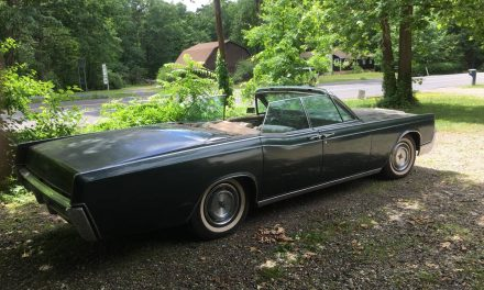 Solid Imperfection: 1967 Lincoln Continental Convertible – SOLD!