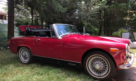 Rip Van Midget: 1971 MG Midget Mk III Project – Sold?