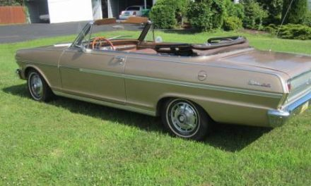 Pictures Tell The Story:  1963 Chevrolet Chevy II SS Convertible – SOLD!