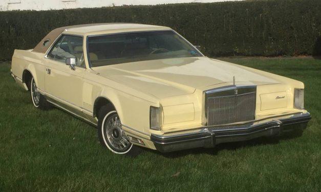 Gold Cream Puff: 1977 Lincoln Continental Mark V 55K Survivor – SOLD!