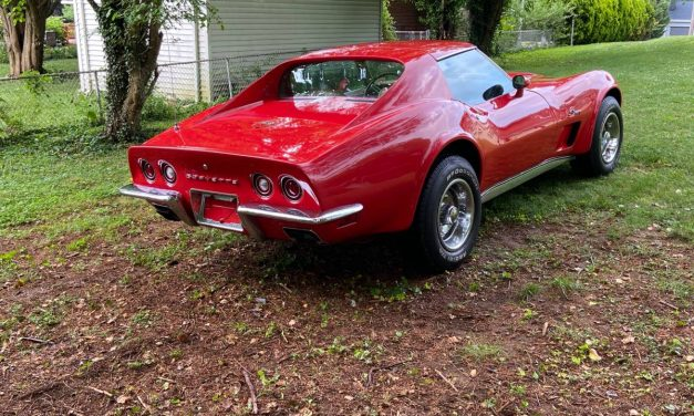 Top Gun:  1973 Chevrolet Corvette Stingray Coupe – SOLD!