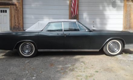 Four-Door Deal: 1966 Lincoln Continental Four-Door Convertible – SOLD!