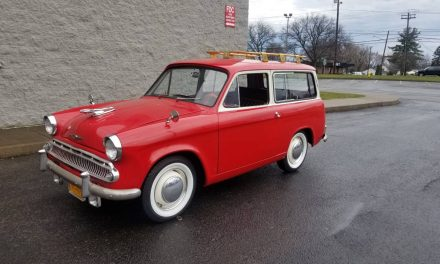 Slow Sled: 1962 Hillman Husky – Sold!