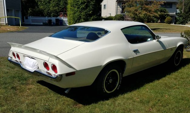 Restore or Restomod: 1973 Chevrolet Camaro LT – SOLD!