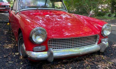 Bring a Shovel:  1964 Austin Healey Sprite Mk III – Sold!