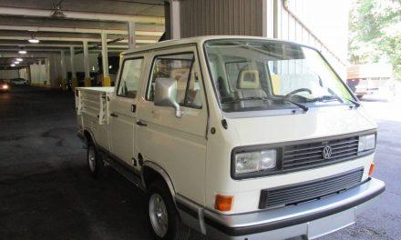 NEW! Award 46:  1985 Volkswagen T3 Transporter Doka – SOLD?