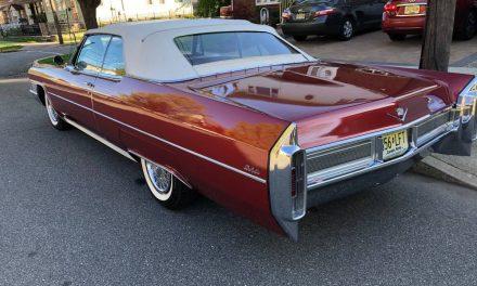 1965 Cadillac Coupe de Ville Convertible 47K Survivor – SOLD!
