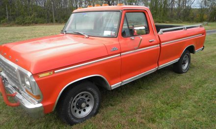 The Original:  1979 Ford F-150 Ranger Sport – SOLD?
