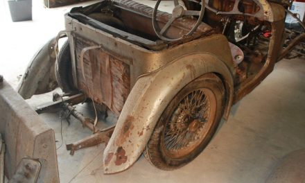 Taken Apart In '58:  1949 MG/TC – SOLD!