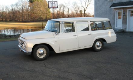 Retired Fire Fighter: 1964 International Harvester Travelall – Sold!