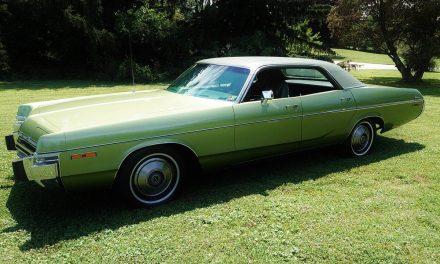 NEW! Award 47: 1973 Dodge Monaco Four Door Hardtop – SOLD!