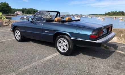 Along Came a Spider:  1986 Alfa Romeo Spider Veloce Series 3 – SOLD!