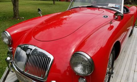 Ponton Styling:  1959 MG MGA 1600 – SOLD!