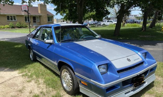 First Year: 1983 1/2 Dodge Shelby Charger 28K Mile Survivor – Sold?