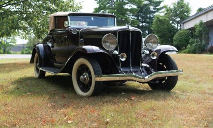 Depression Era Sleeper: 1931 Auburn 8-98a Cabriolet – SOLD!