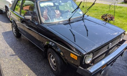 Oldie But Goodie: 1980 Volkswagen Cabriolet 5-Speed 53K Mile – Sold?