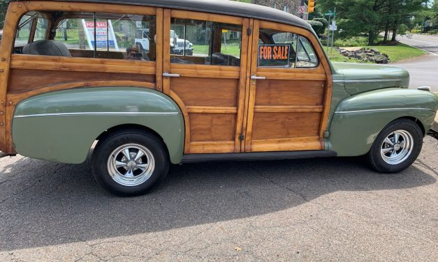 Side of The Road 25: 1941 Ford Super Deluxe Woody Wagon – $100,000