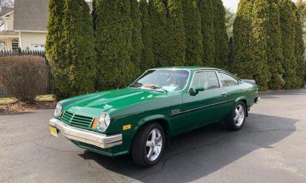 Space 26: 1975 Chevrolet Vega V6 Custom – SOLD!