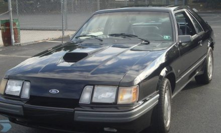 Turbocharged Fox Body: 1986 Ford Mustang SVO – SOLD!
