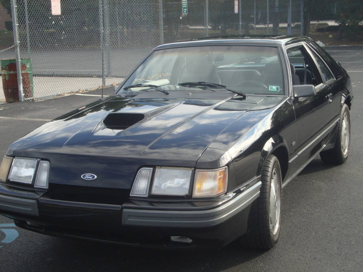 Turbocharged Fox Body: 1986 Ford Mustang SVO - SOLD ...