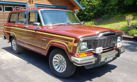 Minty Survivor: 1984 Jeep Grand Wagoneer – SOLD!