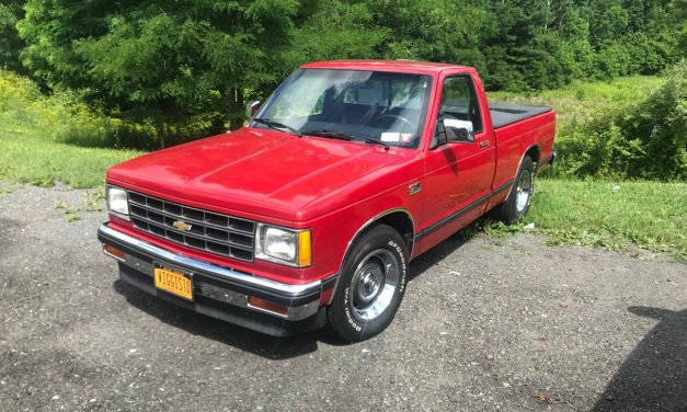 Right Sized: 1985 Chevrolet S10 Tahoe 5-Speed Pickup – $8,200