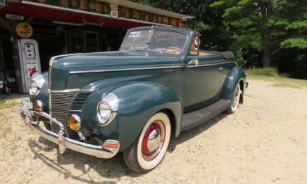 Como Blue: 1940 Ford DeLuxe Convertible Coupe – STILL $44,500