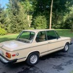 Tan Tuetonic: 1975 BMW 2002 5-Speed 56K Mile Survivor – $17,800